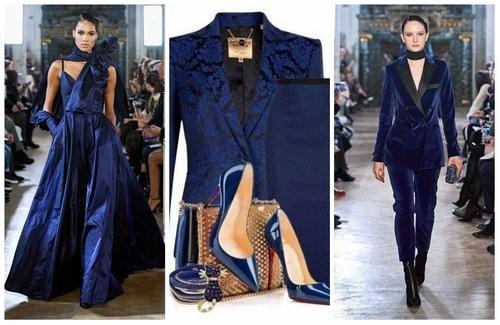 Модный синий цвет 2020