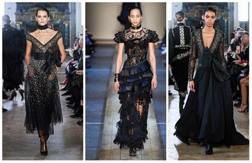 Черный цвет модный в 2020 году